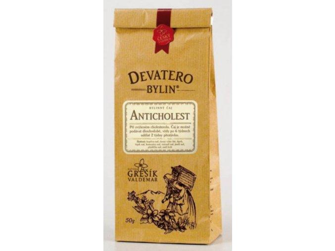 Grešík Anticholest čaj sypaný 50 g Devatero bylin