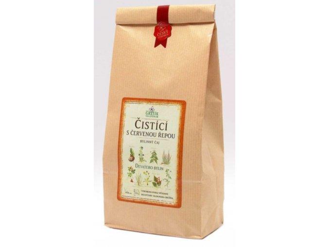 Grešík Čistící s červenou řepou čaj sypaný 200 g Devatero bylin