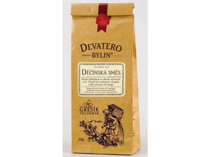Grešík Děčínská směs čaj sypaný 50 g Devatero bylin