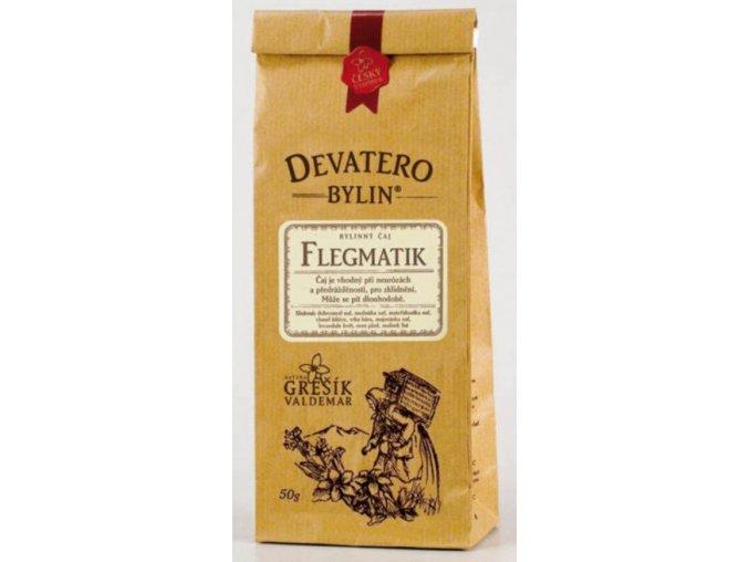Grešík Flegmatik čaj sypaný 50 g Devatero bylin