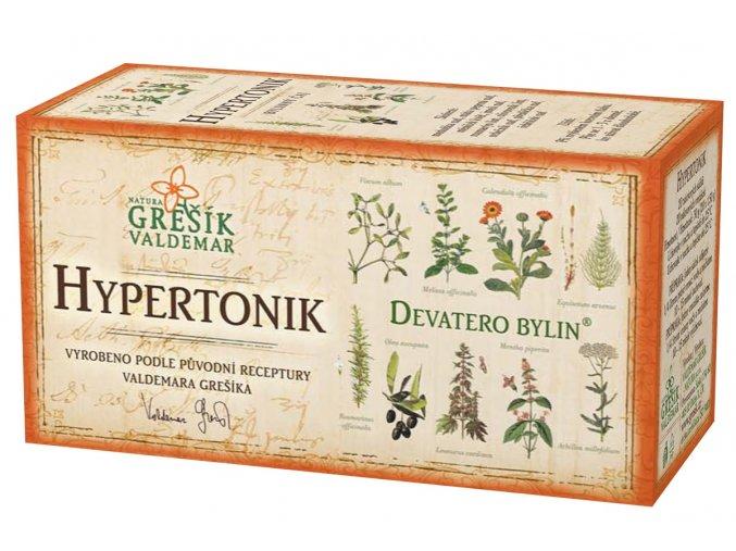 Grešík Hypertonik čaj n.s. 20x1.5g Devatero bylin