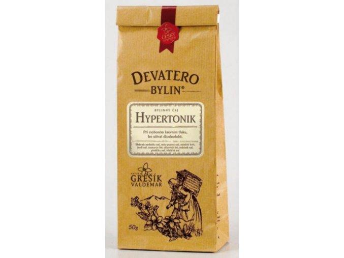 Grešík Hypertonik čaj sypaný 50 g Devatero bylin