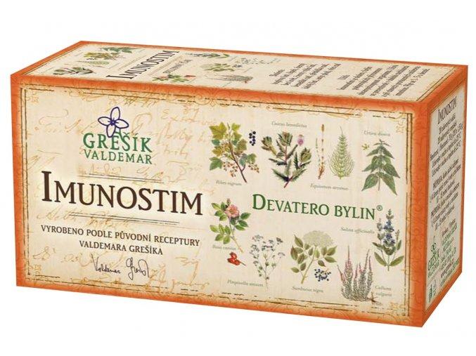 Grešík Imunostim čaj n.s. 20x1.5g Devatero bylin