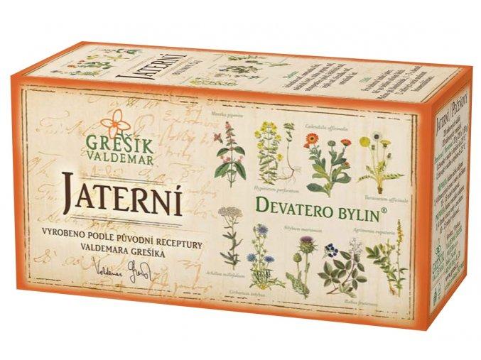 GRESIK Jaterní čaj n.s. 20x1g Devatero bylin