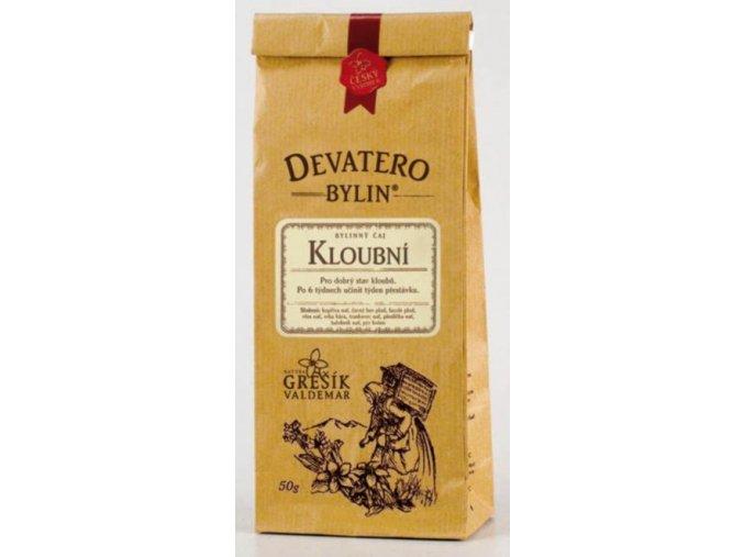 Grešík Kloubní čaj sypaný 50 g Devatero bylin