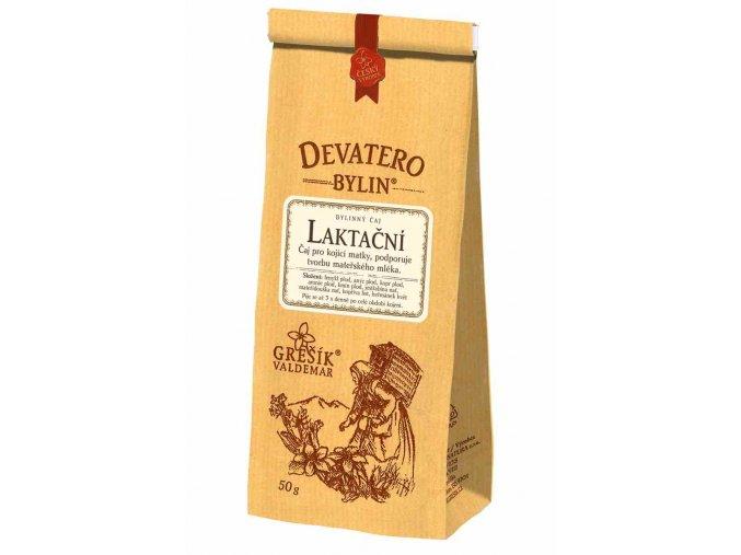 Grešík Laktační čaj sypaný 50 g Devatero bylin
