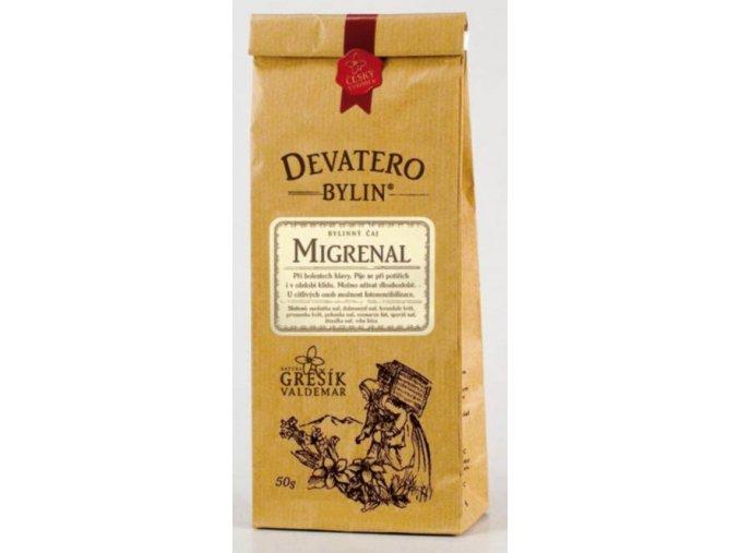 Grešík Migstop čaj sypaný 50 g Devatero bylin