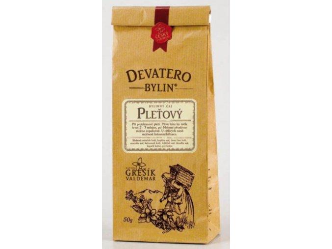 Grešík Pleťový čaj sypaný 50 g Devatero bylin