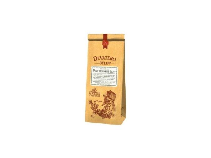 Grešík Pro těhotné ženy čaj sypaný 50 g Devatero bylin