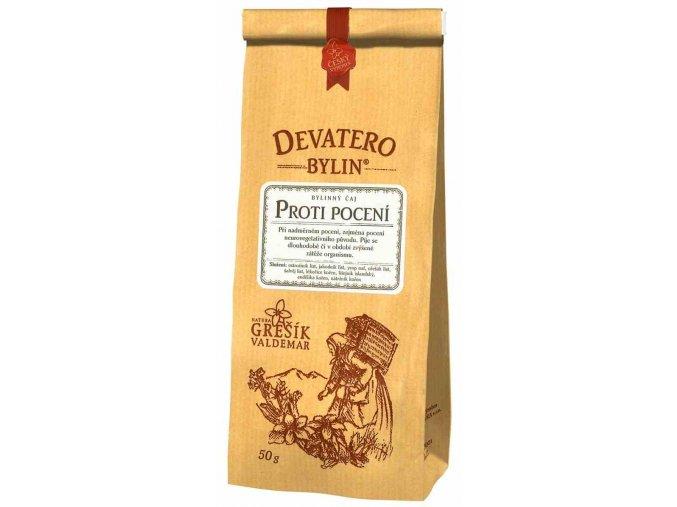 Grešík Proti pocení čaj sypaný 50 g Devatero bylin