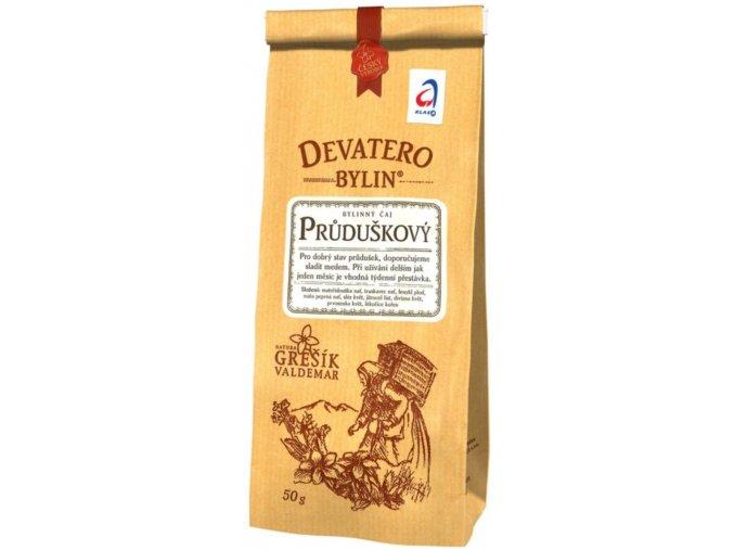 Grešík Průduškový čaj sypaný 50 g Devatero bylin