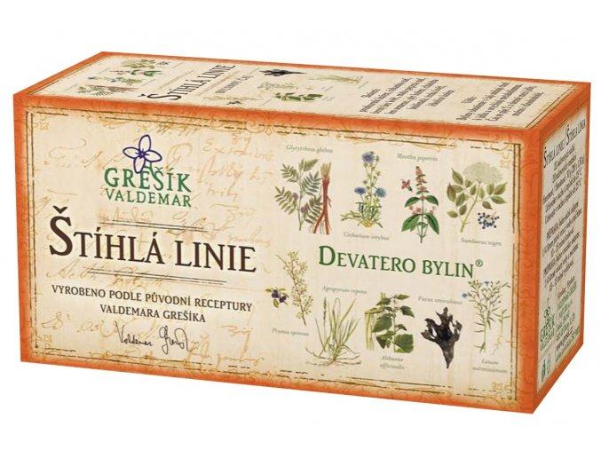 Grešík Štíhlá linie čaj n.s. 20x1.5g Devatero bylin