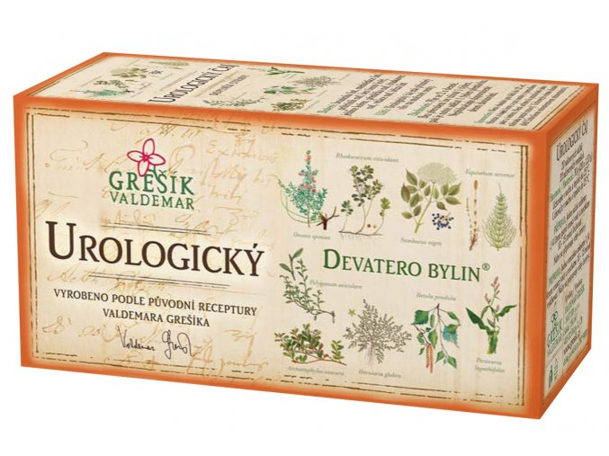 Grešík Urologický čaj n.s. 20x1.5g Devatero bylin