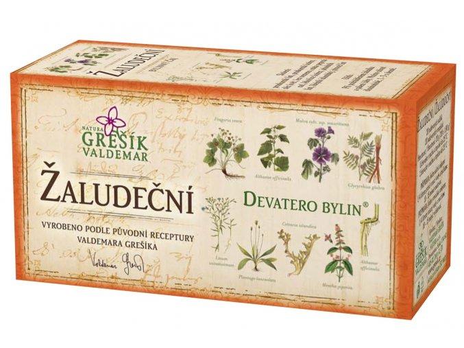 Grešík Žaludeční čaj n.s. 20x1g Devatero bylin