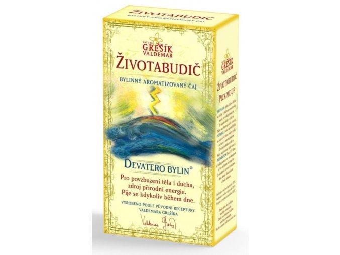 Grešík Životabudič čaj sypaný 50 g Devatero bylin