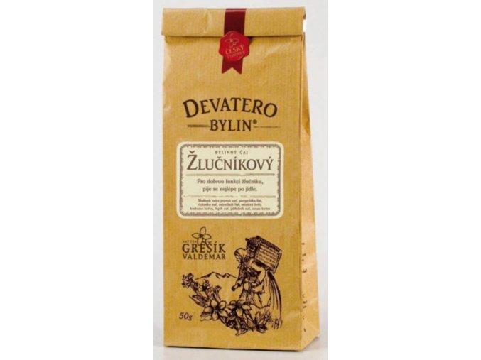 Grešík Žlučníkový čaj sypaný 50 g Devatero bylin