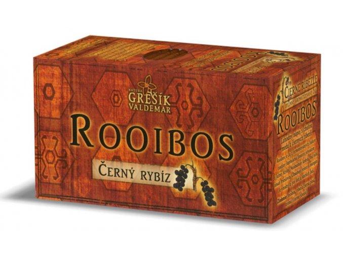 Grešík Rooibos Černý rybíz  n.s. 20 x 1,5 g