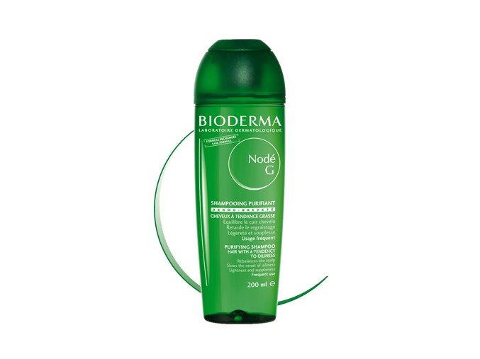 Bioderma Jemný šampon na mastné vlasy Nodé 400 ml