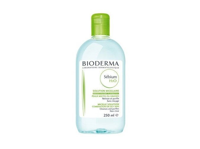 Bioderma Čisticí pleťová voda pro mastnou pleť Sebium H2O 250 ml