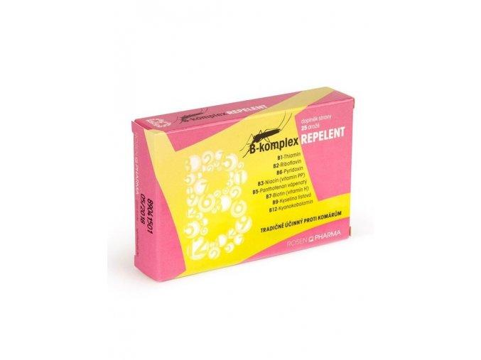 Rosen B-komplex Repelent 25 dražé