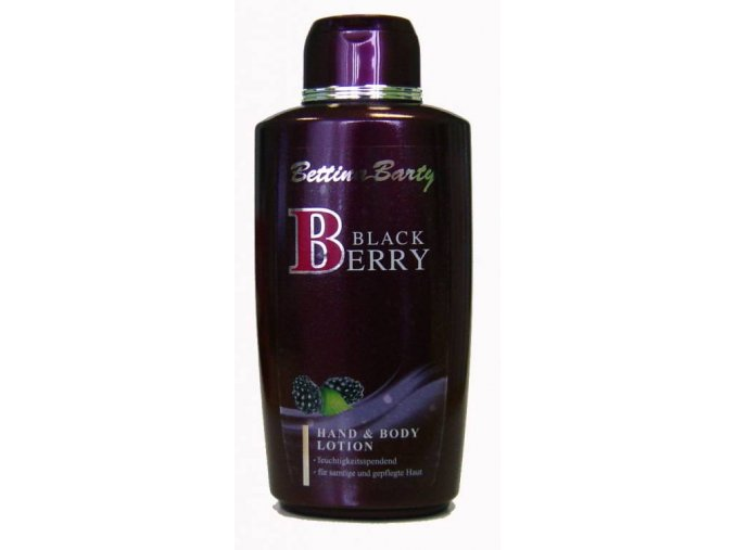 Bettina Barty tělové mléko Black Berry 500 ml