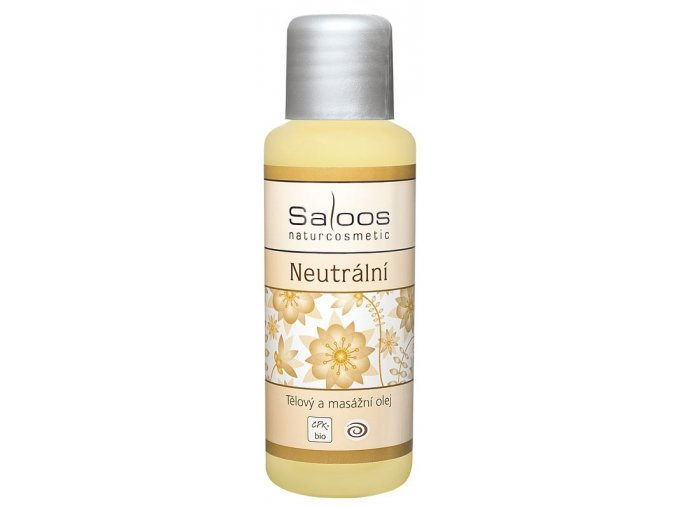 Saloos Bio Neutrální - tělový a masážní olej