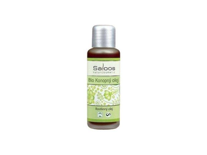 Saloos Bio Konopný olej lisovaný za studena