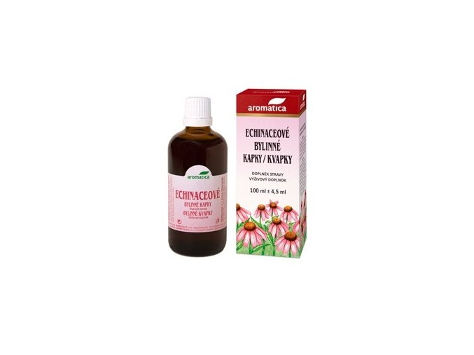 Aromatica Echinaceové bylinné kapky od 3 let 50 ml