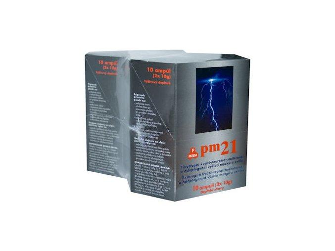 Purus Meda PM 21 - pitné ampule 10x20 g balení 1+1