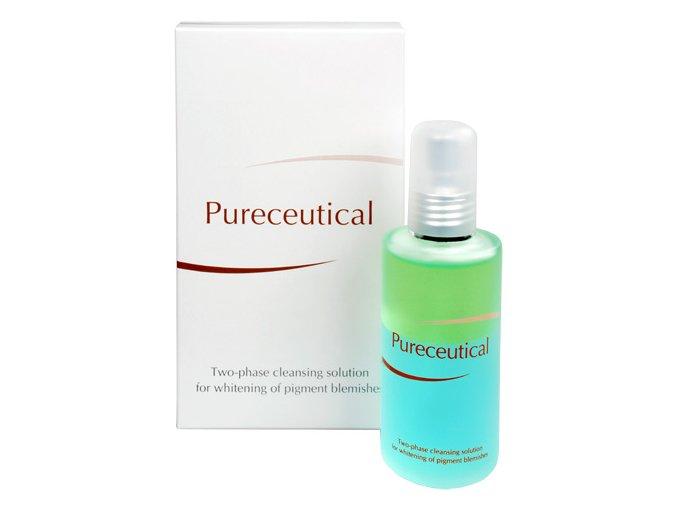 Pureceutical - dvojfázový čistící roztok na zesvětlení pigmentových skvrn 125 ml