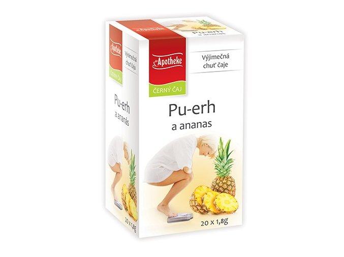 Apotheke Pu-erh a ananas čaj 20x1.8g