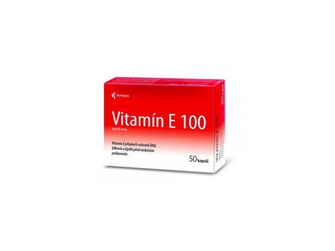 Noventis Vitamín E 100mg 50 kapslí