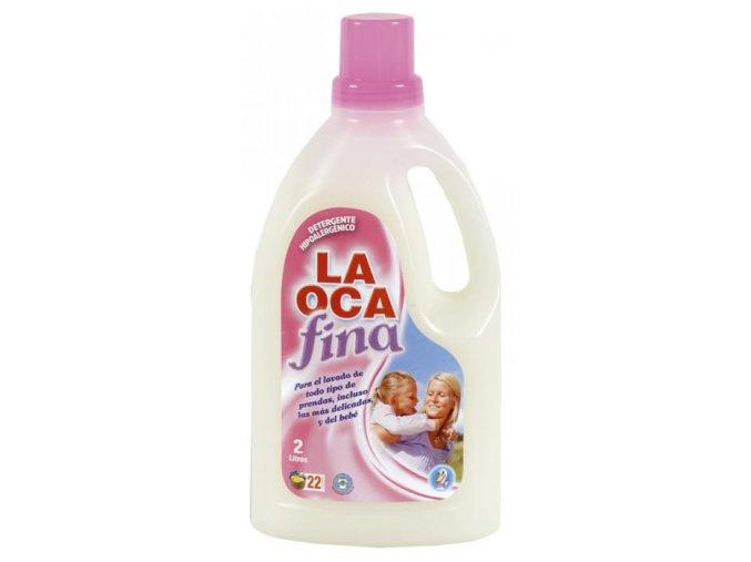 Finclub Prací gel na jemné a dětské prádlo 1950 ml