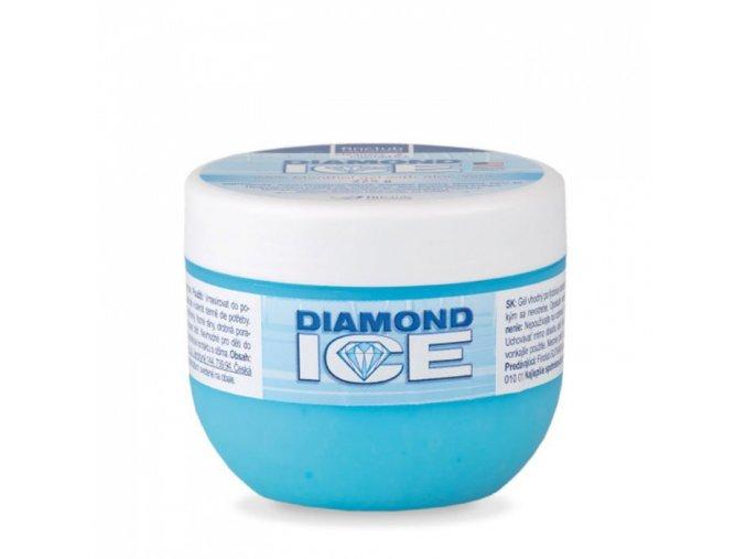 Finclub Masážní gel Diamond Ice 2,5% s Aloe vera 225 g