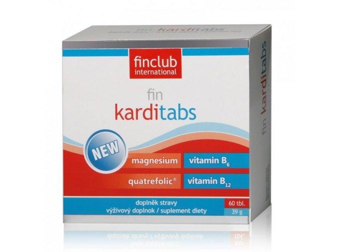 Finclub Fin Karditabs 60 tbl.