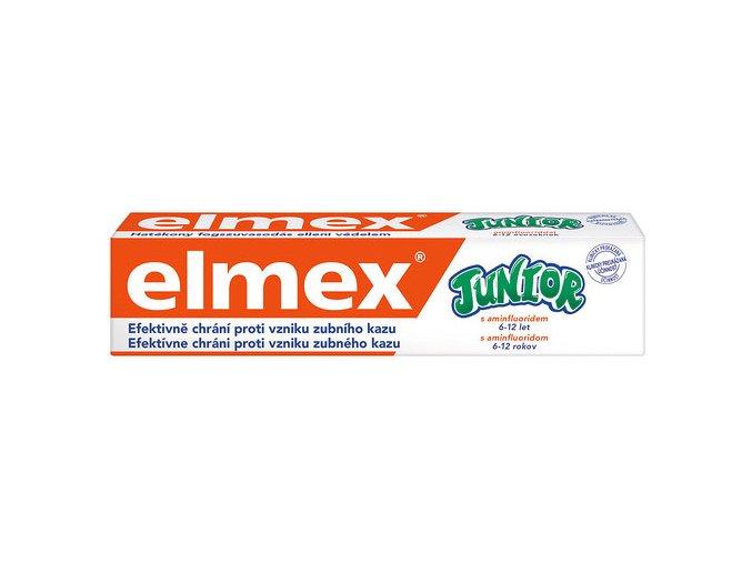 Elmex Zubní pasta Junior pro děti 5-12 let 75 ml