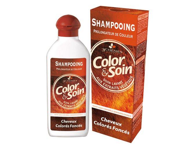 Color & Soin Šampón - Tmavě barvené vlasy 250 ml