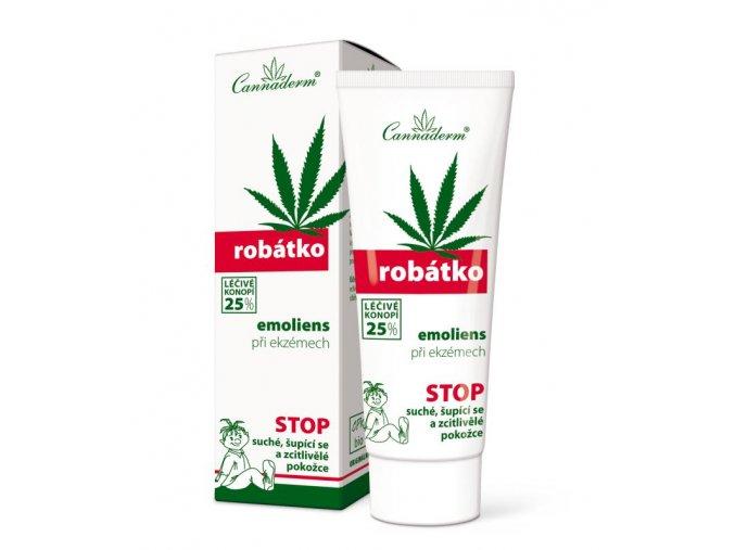 Cannaderm Bio Zvláčňující krém Robátko Emoliens 75 g