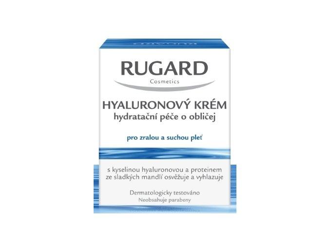 Rugard Hyaluronový krém - hydratační péče o obličej