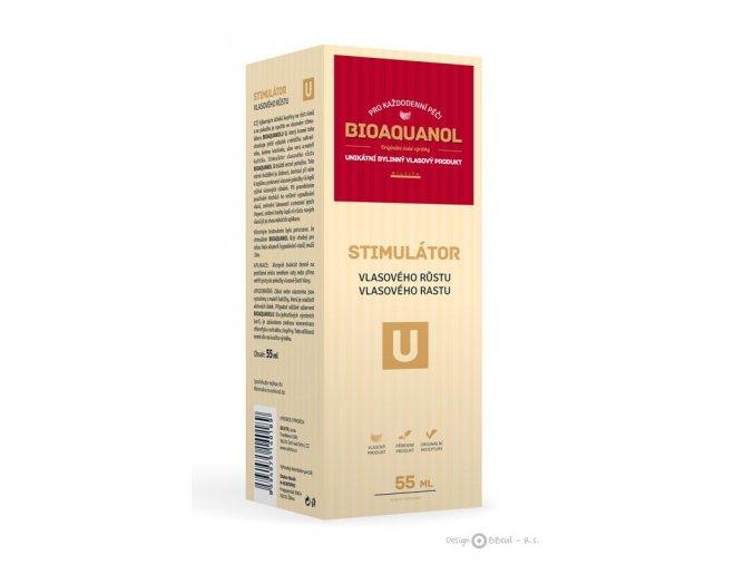 Silvita Bioaquanol U stimulátor vlasového růstu 55 ml