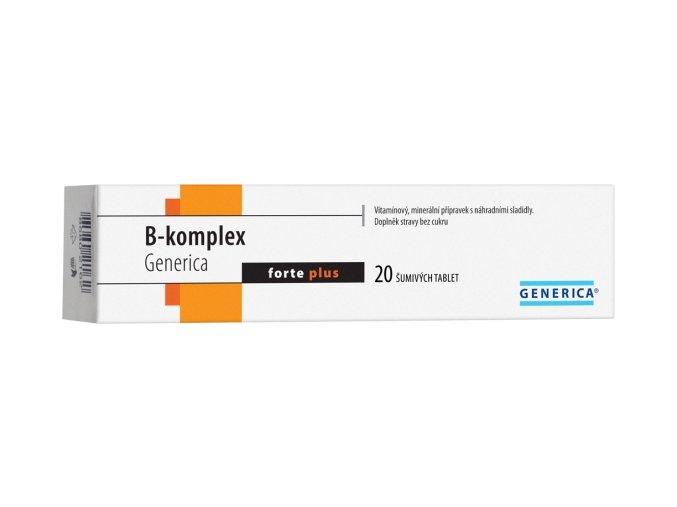 Generica B-komplex forte plus eff.tbl.20