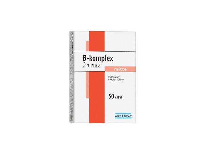 Generica B-komplex mitte 50 kapslí