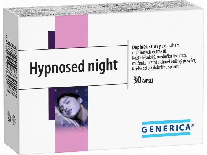Generica Hypnosed night 30 kapslí