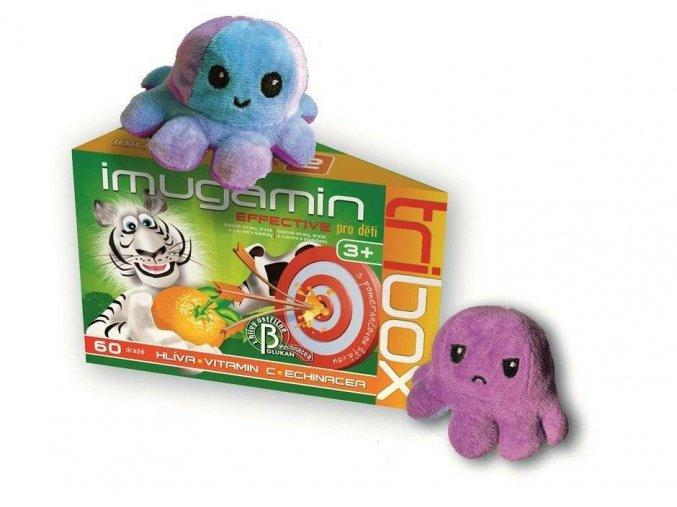 Imugamin Effective pro děti Tribox 60 tbl. + dárek