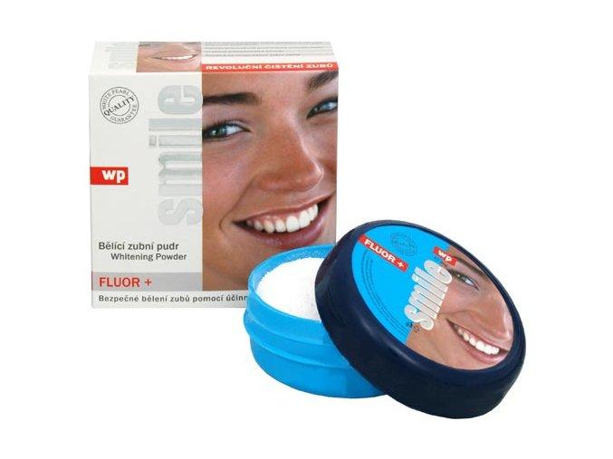 White Pearl Bělící pudr na zuby - Smile (Fluor+) 30 g