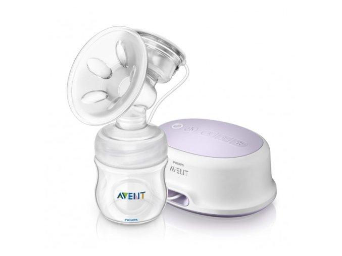 Avent Elektronická odsávačka Natural + zásobník 125 ml