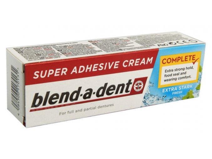 Blend-a-dent upevňující krém na zubní náhrady FRESH 47g