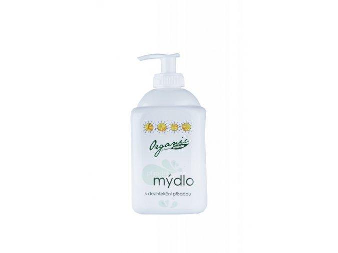 Organic Přírodní mýdlo s dezinfekční přísadou 500 ml