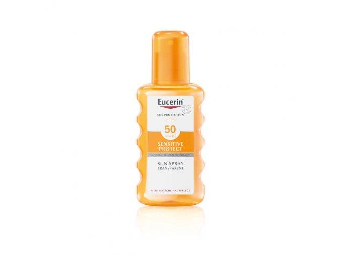 Eucerin Sun Transparentní sprej na opalování SPF 50 200 ml