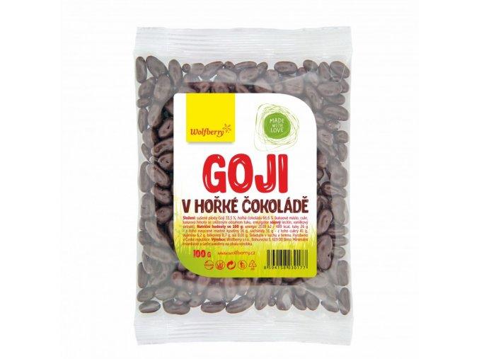 goji v horke cokolade wolfberry 100 g